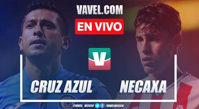 Resumen y goles del Cruz Azul 4-0 Necaxa en SuperCopa MX 2019