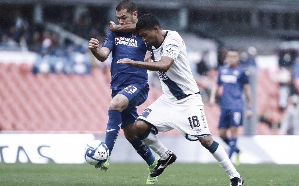 Cruz Azul y Puebla reparten puntos