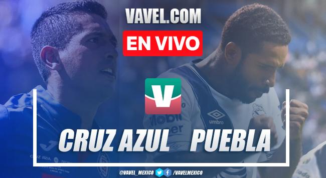 Resumen y video goles Cruz Azul 1-1 Puebla en Apertura 2019