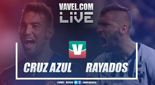 Resumen y goles Cruz Azul 1-0 Monterrey en Semifinal Vuelta Apertura 2018