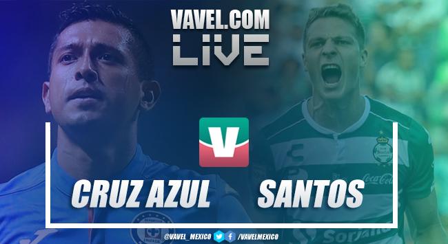 Cruz Azul vs Santos en vivo online en Liga MX 2019 (0-0)