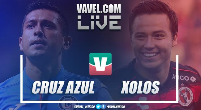 Resultado y goles del Cruz Azul (1-0) Xolos Tijuana