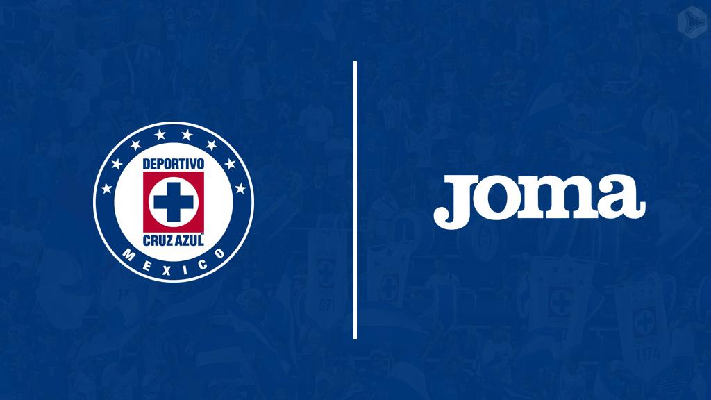 Cruz Azul oficializa a Joma como nueva marca deportiva