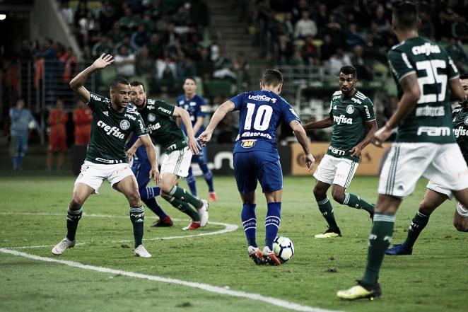 Retrospecto: Cruzeiro leva vantagem sobre o Palmeiras pela Copa do Brasil