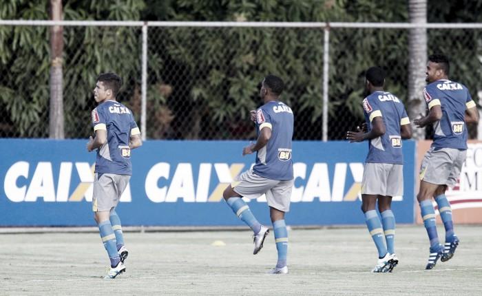 Paulo Bento fecha parte do treino, mas sinaliza Cruzeiro que enfrenta o Santa Cruz