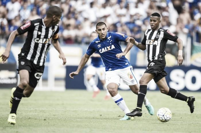 Atlético-MG domina primeiro tempo, Cruzeiro cresce no segundo e clássico termina empatado
