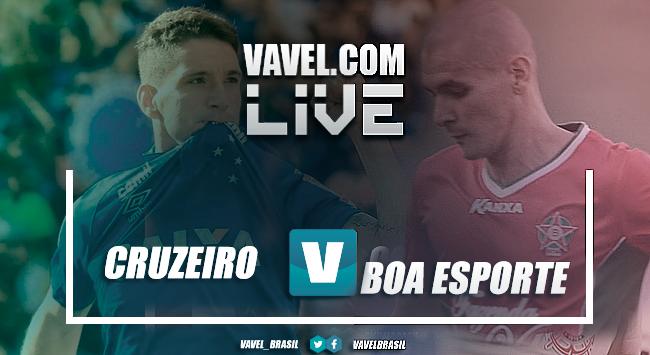 Resultado Boa Esporte 2 x 2 Cruzeiro pelo Campeonato Mineiro