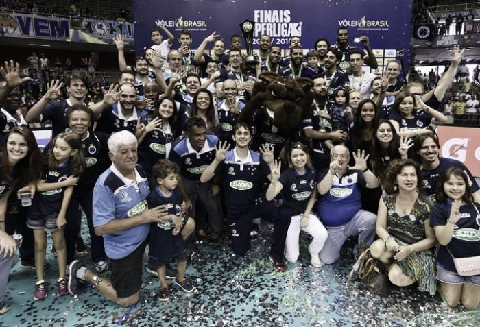 Mundial Masculino de Clubes de Voleibol terá dois representantes brasileiros
