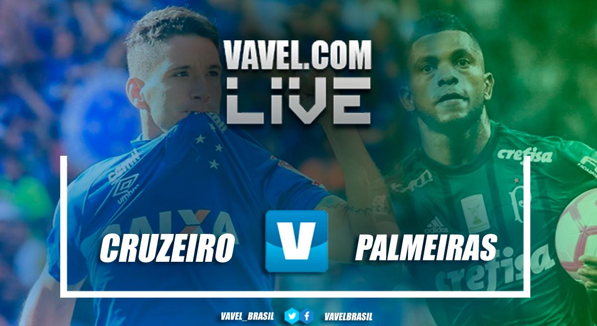 Resultado Cruzeiro 0x0 Palmeiras no Campeonato Brasileiro 2018