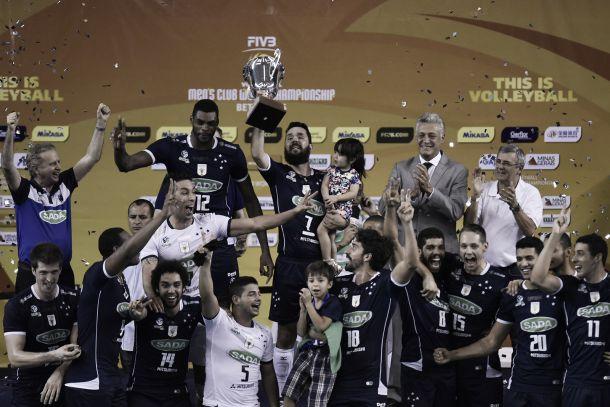 Cruzeiro bate Zenit em jogo emocionante e fatura bi do Mundial de Clubes de Vôlei