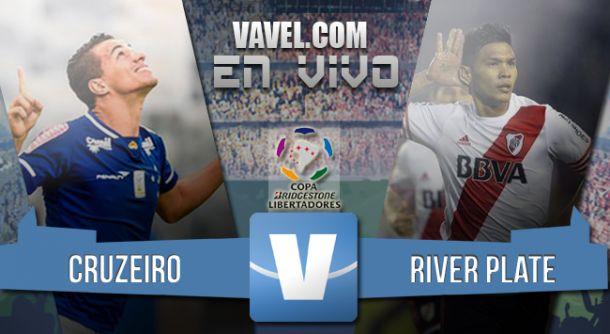 Resultado Cruzeiro - River por la Copa Libertadores 2015 (0-3)