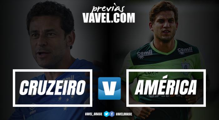 Com Mineirão lotado, Cruzeiro e América fazem primeiro clássico de 2018 de olho na ponta do Mineiro