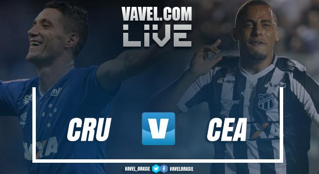 Resultado Cruzeiro 0 x 2 Ceará pelo Campeonato Brasileiro 2018