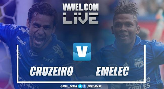 Gols e melhores momentos Cruzeiro 1x2 Emelec pela Libertadores
