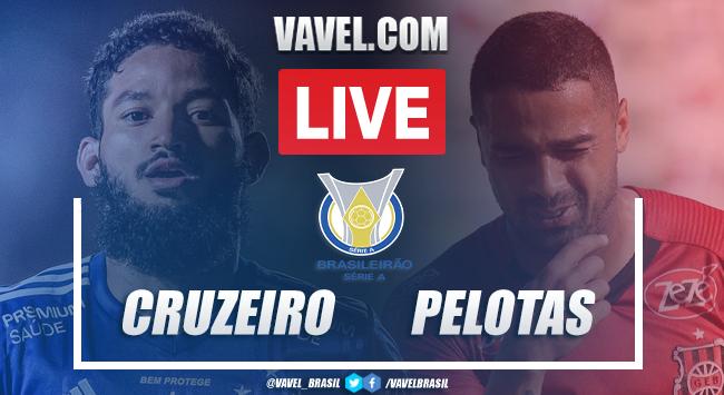 Gols e melhores momentos Cruzeiro 4x1 Brasil de Pelotas pela Série B