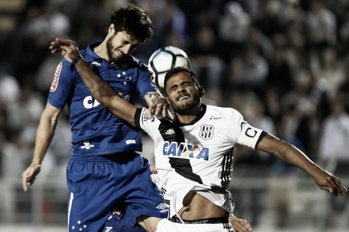 Resultado Cruzeiro x Ponte Preta no Campeonato Brasileiro (2-1)