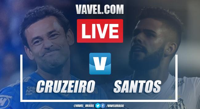 Gols e melhores momentos Cruzeiro 2x0 Santos pelo Campeonato Brasileiro 2019