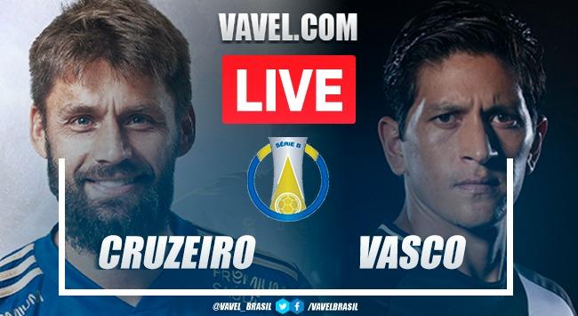 Gols e melhores momentos Cruzeiro x Vasco pela Série B do Campeonato Brasileiro 2021 (2-1)