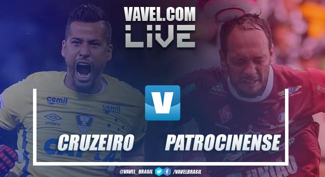Resultado Cruzeiro 1x0 Patrocinense pelo Campeonato Mineiro 2018