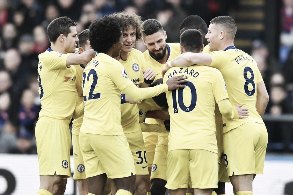 Kanté marca e garante vitória do Chelsea contra Crystal Palace fora de casa