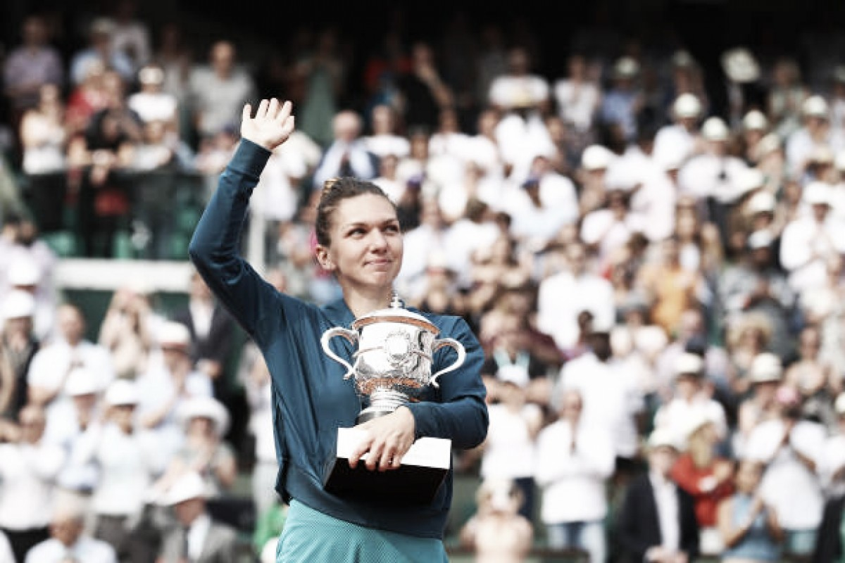 French Open: Simona Halep battles past Sloane Stephens to claim first Major title