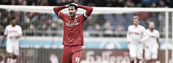 Hannover 96 0-2 1. FC Köln: Billy Goats get long-awaited win