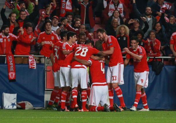 Benfica - Galatasaray, vittoria e primato per i portoghesi