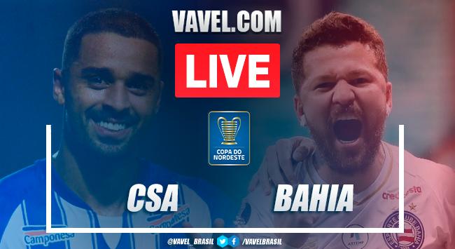 Gols e melhores momentos de CSA x Bahia (2-0)