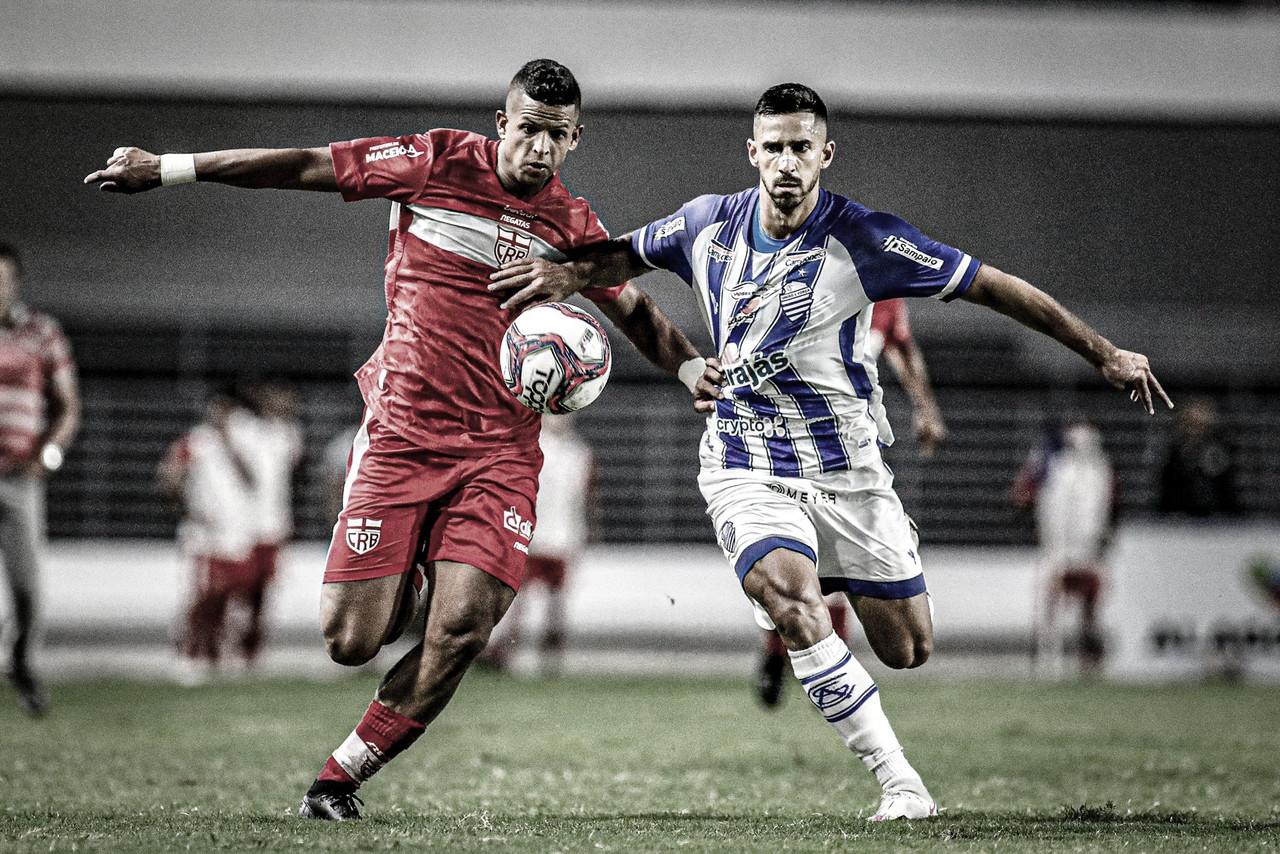 CSA e CRB ficam no empate sem gols no primeiro jogo da decisão do Alagoano