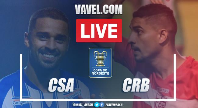 Gols e melhores momentos de CSA x CRB (1-1)