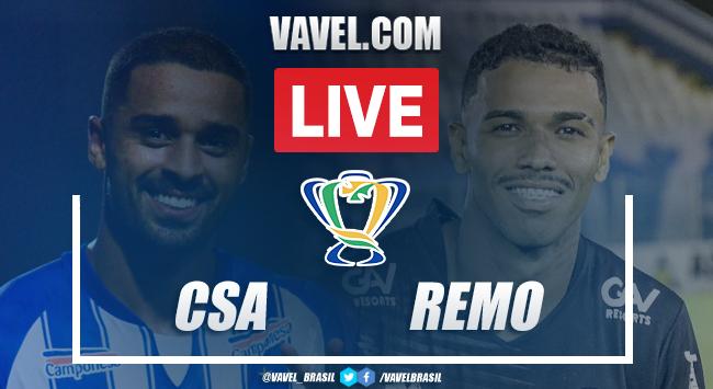 Gols e melhores momentos de CSA 1 x 1 Remo pela Copa do Brasil (5-6)
