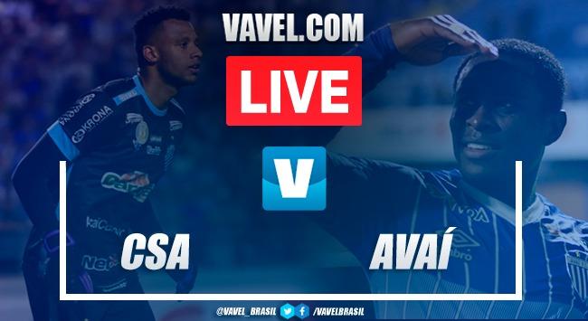 Resultado CSA x Avaí Campeonato Brasileiro 2019 (3-1)