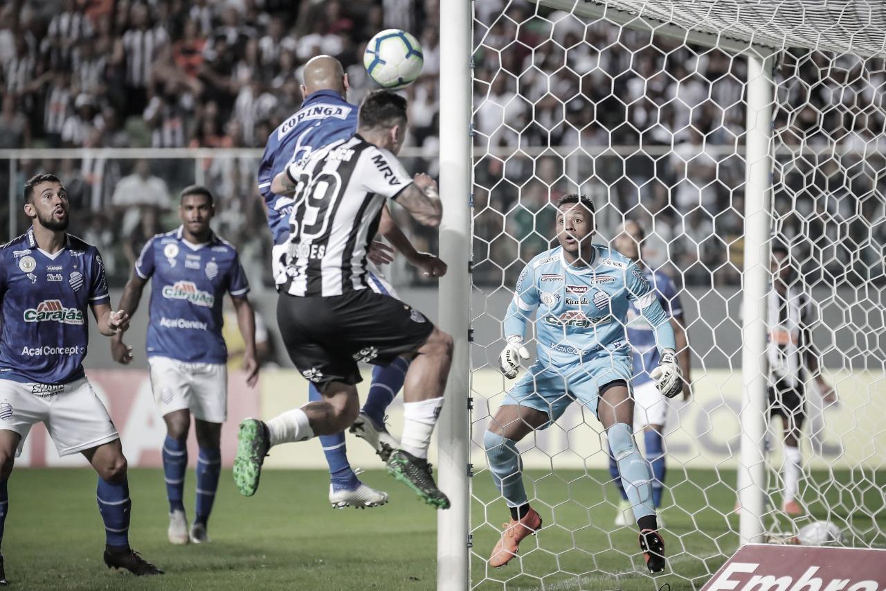 Na fuga contra rebaixamento, CSA mira retrospecto positivo em casa diante do Atlético-MG