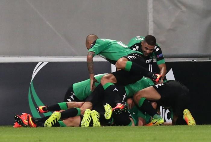 Sassuolo da urlo, Athletic Bilbao atterrito: 3-0 al Mapei