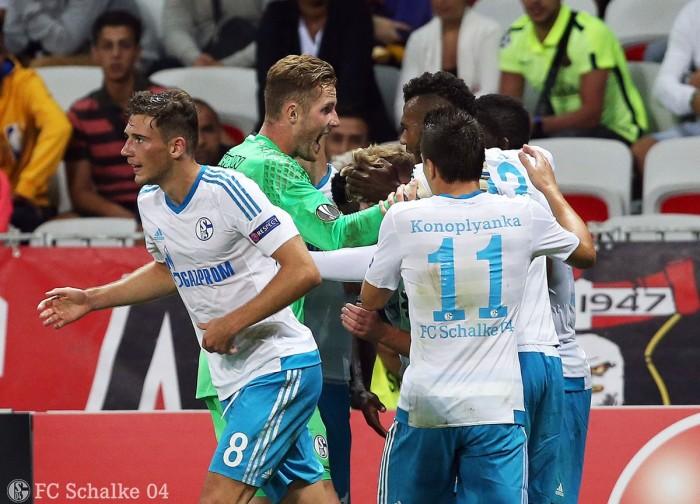 Europa League, Baba regala i tre punti allo Schalke contro il Nizza