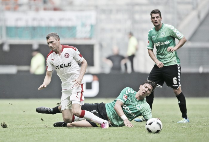 Fortuna Düsseldorf 1-1 SpVgg Greuther Fürth: Points shared at ESPRIT Arena
