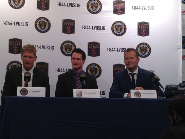 Bethlehem Steel FC Introduce Brendan Burke As First Head Coach