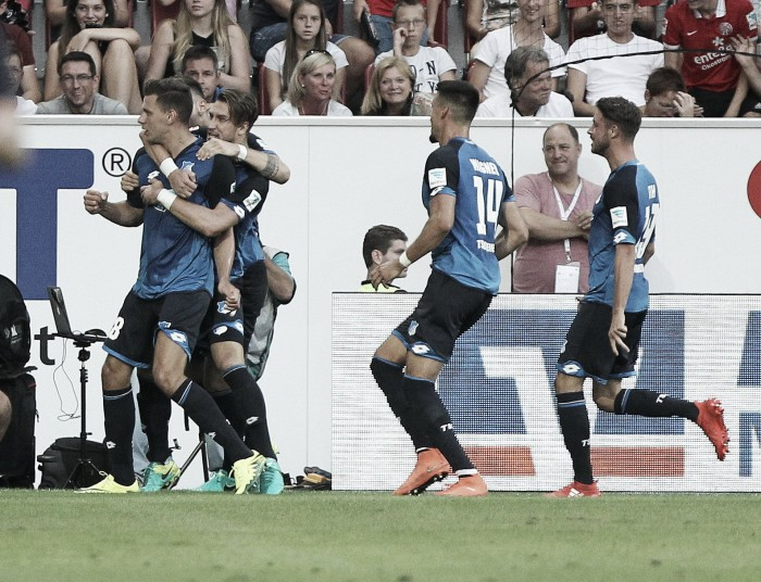 1. FSV Mainz 05 4-4 TSG 1899 Hoffenheim: Uth and Szalai lead sensational comeback