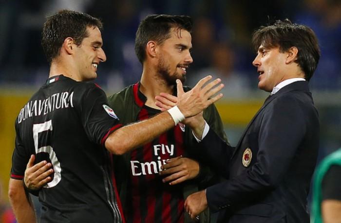 Sampdoria ko nel finale, il Milan ritrova la vittoria: le voci del post partita