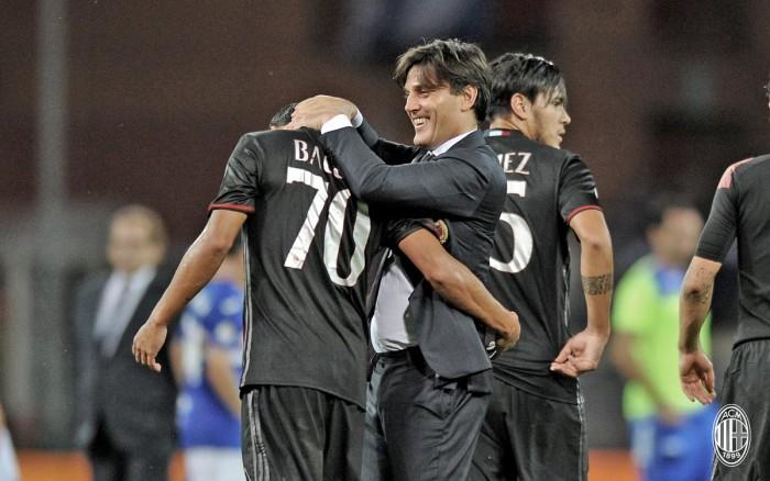 Il Milan svolta grazie al solito Bacca