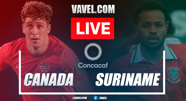 Goals and highlights: Canada 4-0 Suriname in Score in Qualifiers CONCACAF