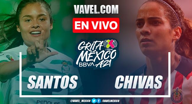 Resumen y goles: Santos 5-4 Chivas en Liga MX Femenil 2021