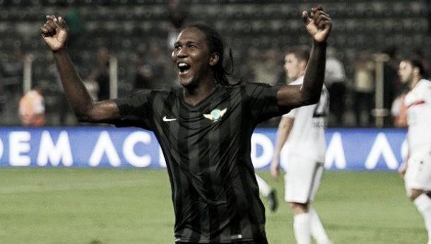 Hugo Rodallega marcó su quinto gol en el Akhisar