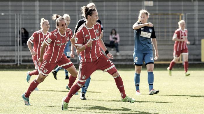 Vitórias de equipes visitantes marcam quarta rodada da Bundesliga feminina