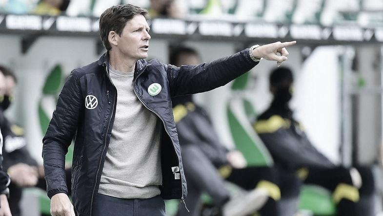 """Oliver Glasner lamenta fim de sequência positiva no Wolfsburg: """"Tínhamos muitos planos"""""""