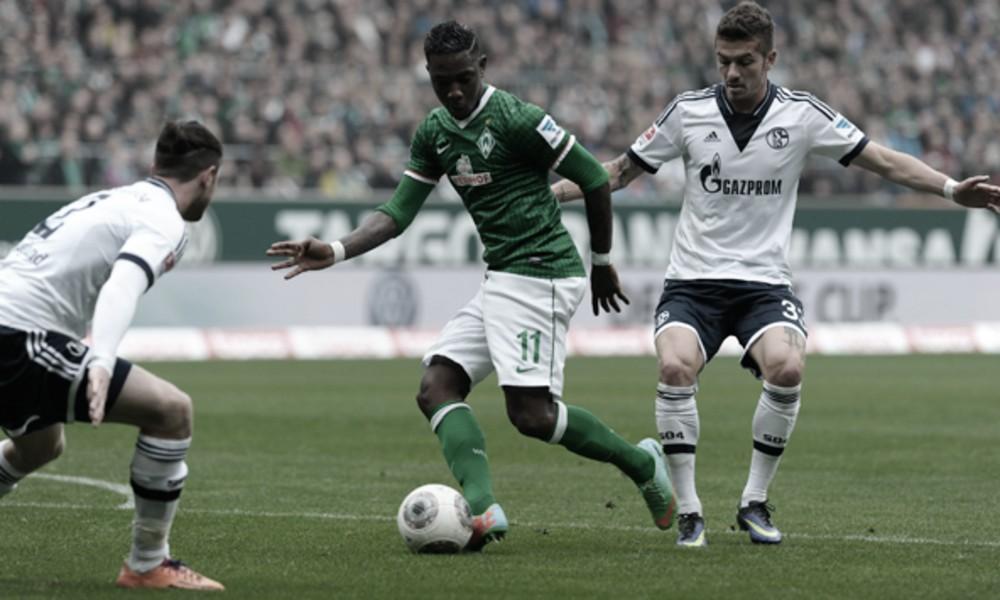 Coincididos por cenário turbulento, Schalke e Bremen se enfrentam pela Bundesliga