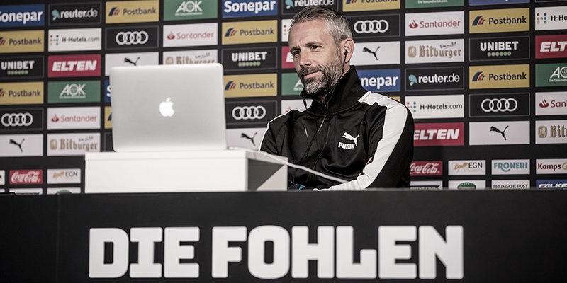 """Marco Rose lamenta revés do Mönchengladbach contra Leverkusen: """"Derrota amarga para nós"""""""
