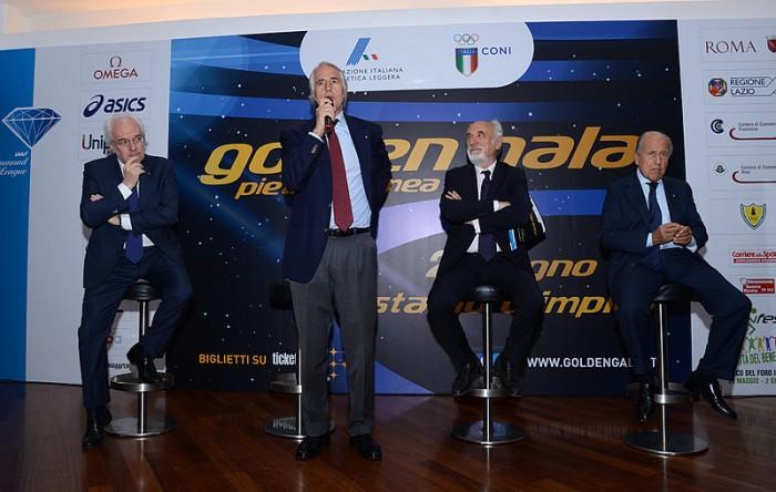 Atletica - Golden Gala 2016, ieri la presentazione. Diversi big a Roma
