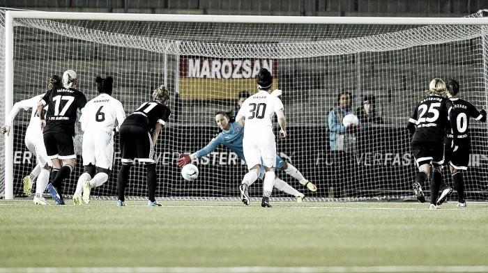 FC Rosengård 0-1 1. FFC Frankfurt: Marozsán's penalty the deciding factor for Frankfurt