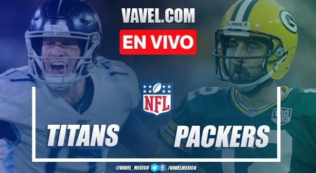 Touchdowns y Resumen del partido Titans 14-40 Packers en la NFL 2020